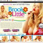 Free Brooklittle Password Account