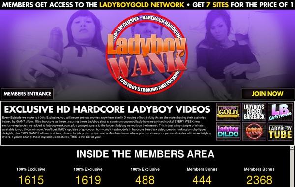 Full Free Ladyboy Wank