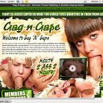 Gag-n-Gape Sign Up Page