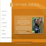 Leather Angels With Paypal