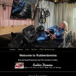 Paypal With Rubber Domina