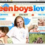 Teen Boys Love Free Pass