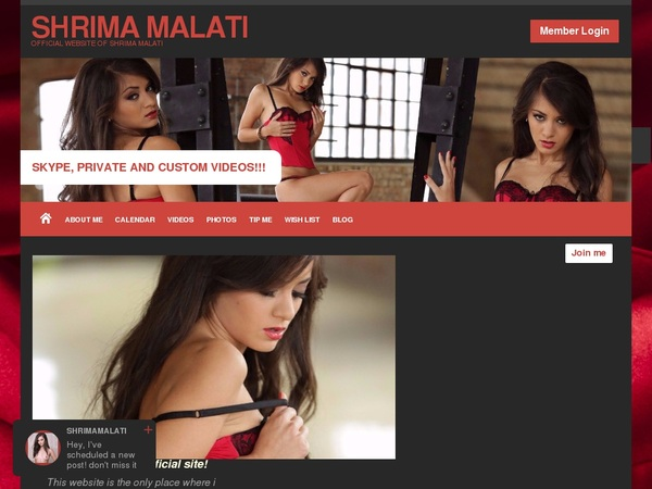 Videos De SHRIMA MALATI