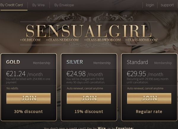 Special Sensual Girl Discount Deal