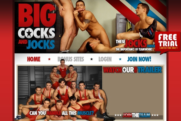 Big Cocks And Jocks Premium Free