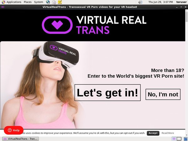 Free Account To Virtual Real Trans
