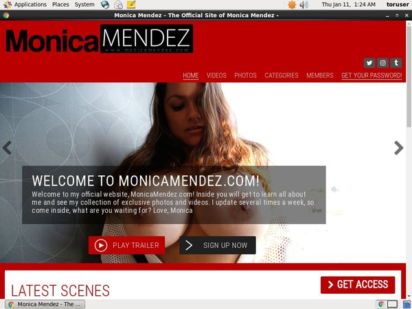 Monicamendez.com Using Pay Pal