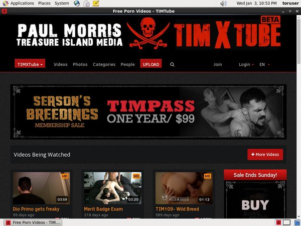Timxtube.treasureislandmedia.com Free Account Login
