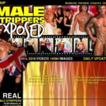 Male Strippers Exposed Membership Trial