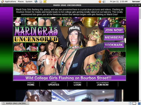 Mardi Gras Uncensored Discount Offer
