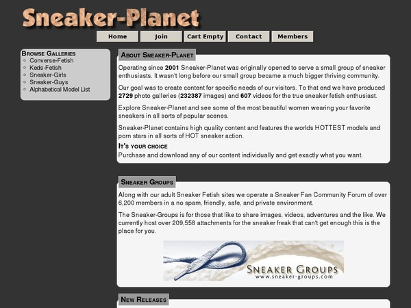 Passwords To Sneaker-planet.com