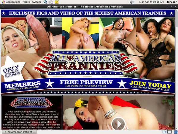 All American Trannies Discount Offer