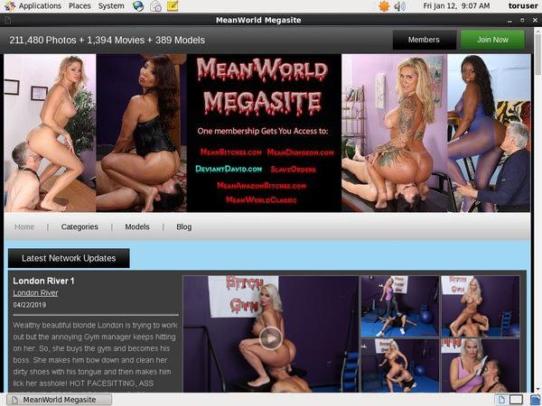 Password Free Mean World