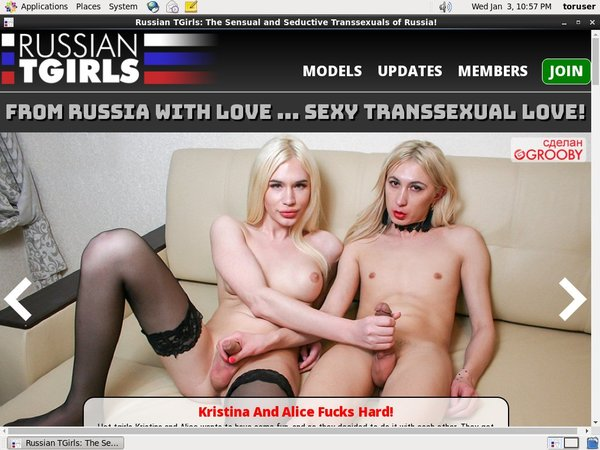 Russian TGirls Special Deal