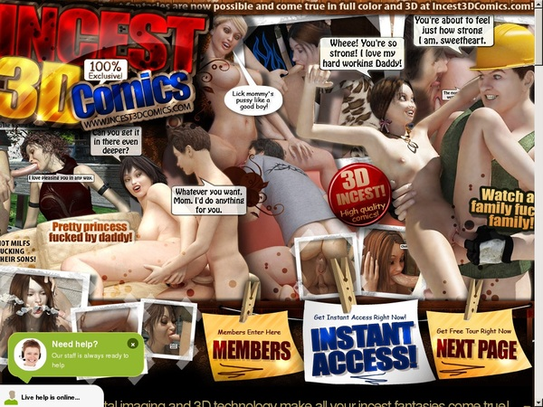 Limited Incest3dcomics.com Discount Offer
