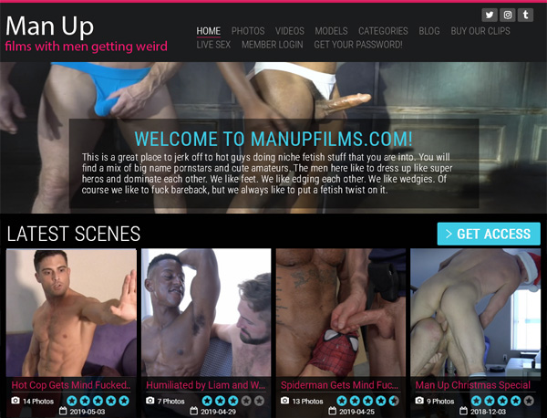 Man Up Films Free Trial Coupon