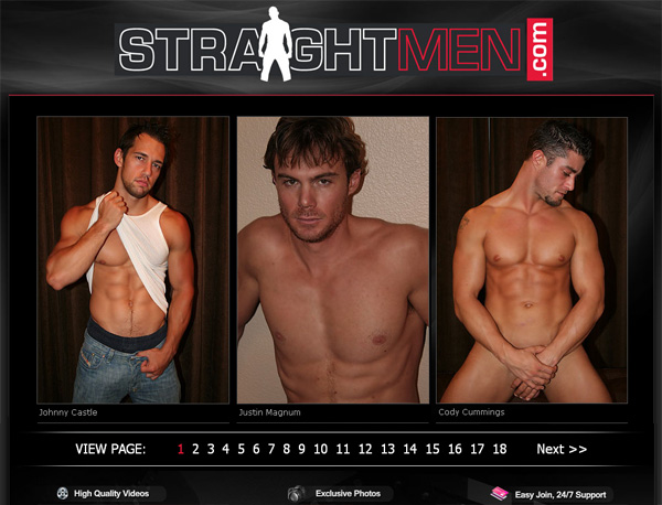 Straight Men Membership Plan