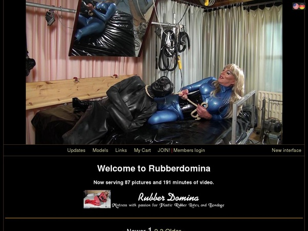Rubberdomina.club With Paypal