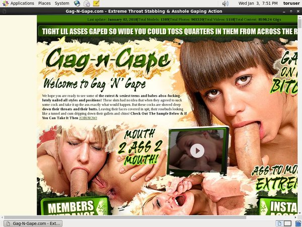 Get Gag-n-Gape Day Trial