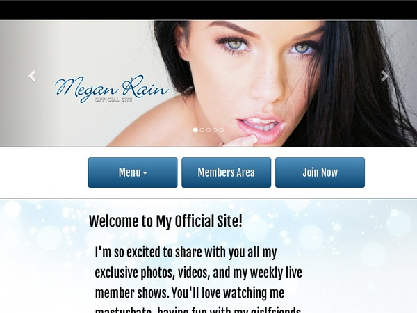 Megan Rain Checkout Form