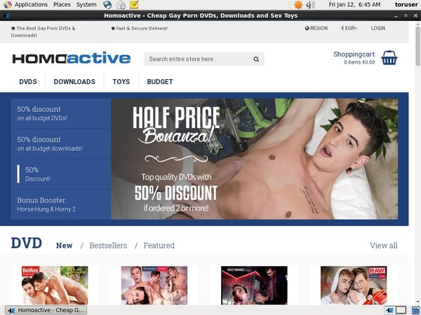 Free Trial Homoactive