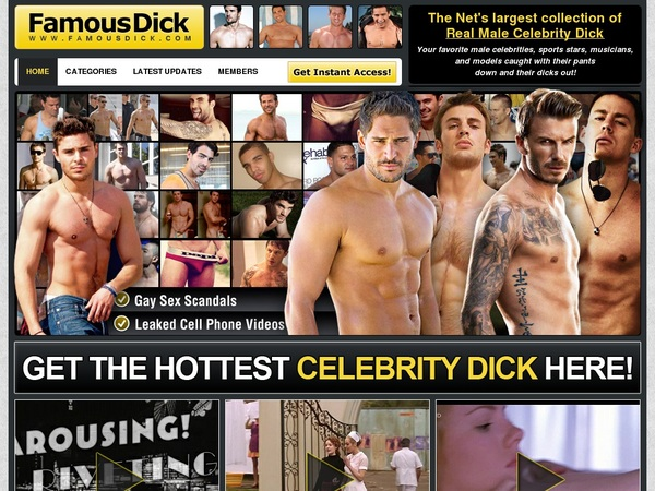Try Famous Dick Free Trial
